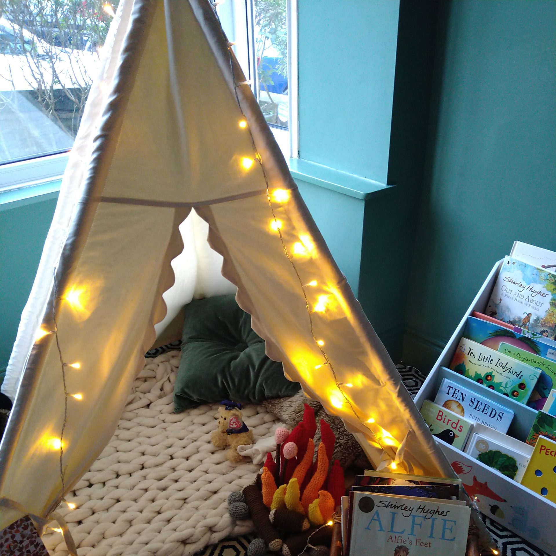 Tiny Beings Tipi